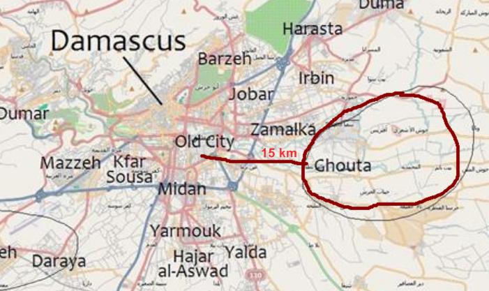 Bildergebnis für Ost-Ghouta