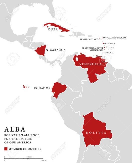 ALBA members info map