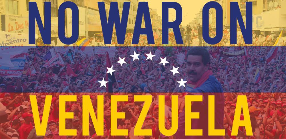Kein Krieg gegen Venezuela!